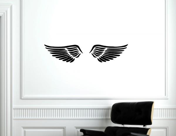 Hjem » Veggord » Border og tegn » Engle vinger